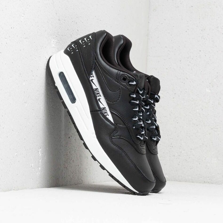 Nike Wmns Air Max 1 SE Black/ Black-White EUR 36.5
