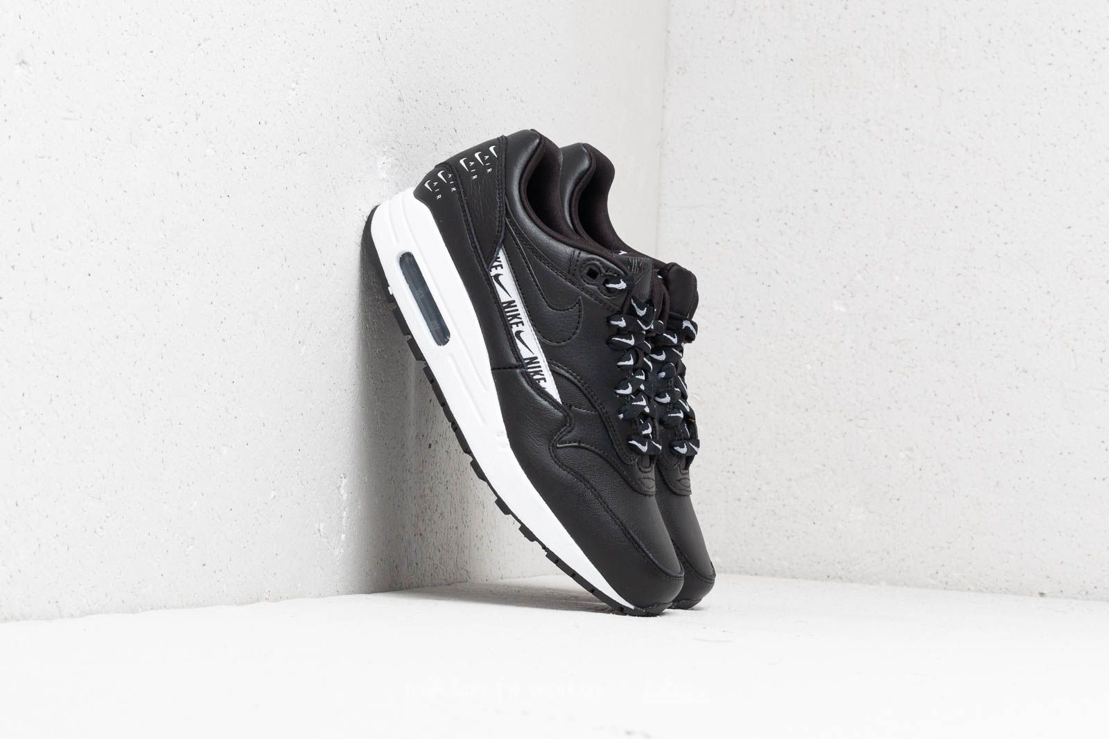 Nike Wmns Air Max 1 SE Black  Black-White at a great price 143 c1b67ef1f3