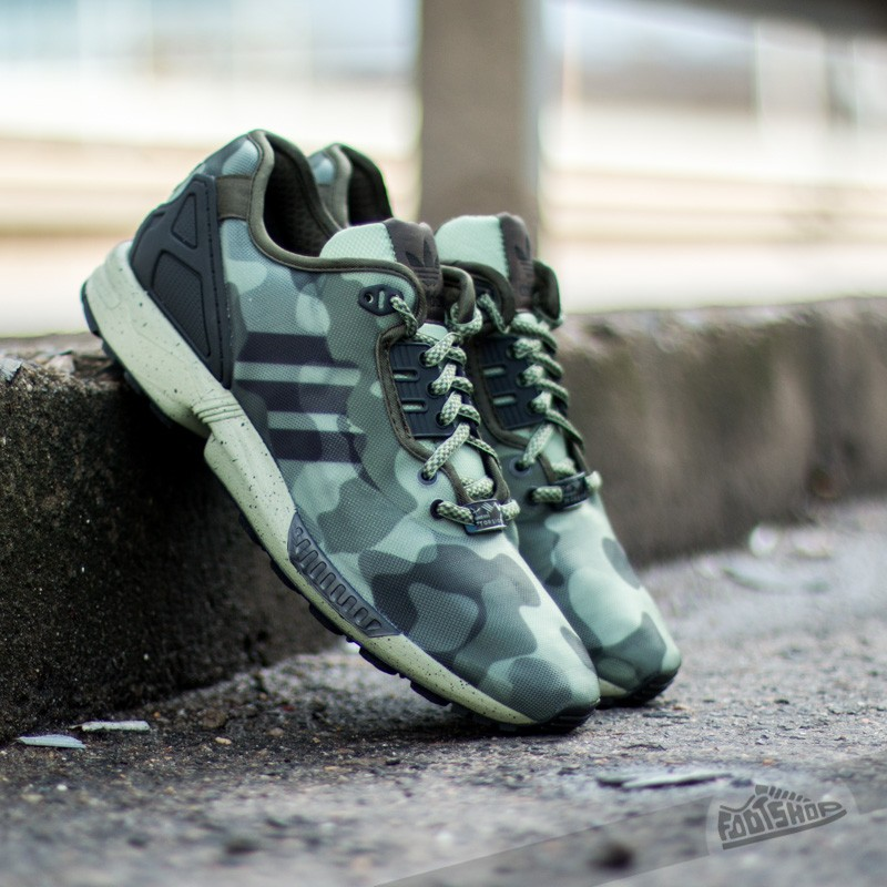 7dacbcbff4f74 adidas ZX Flux Decon St Tent Green Night Cargo Core Black