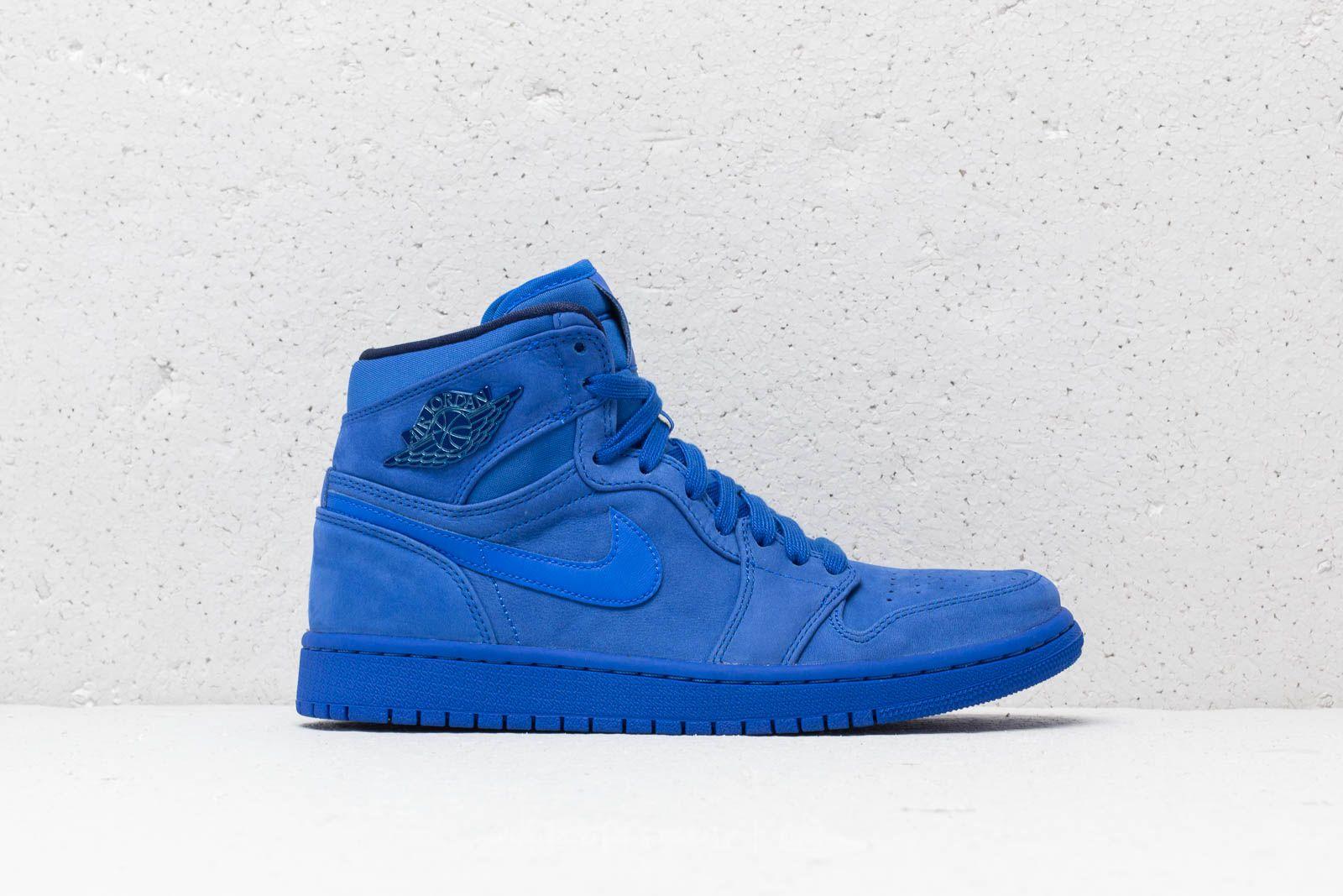 nike jordan blue