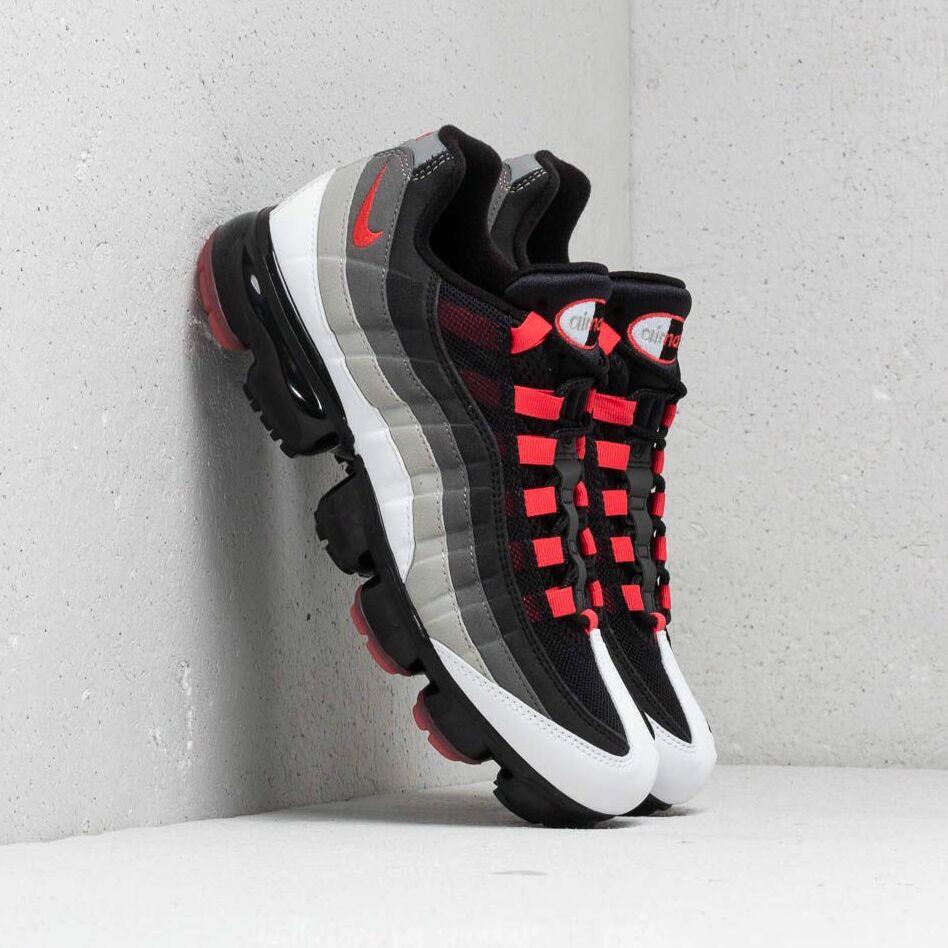 Nike Air Vapormax '95 White/ Hot Red-Dark Pewter EUR 42.5