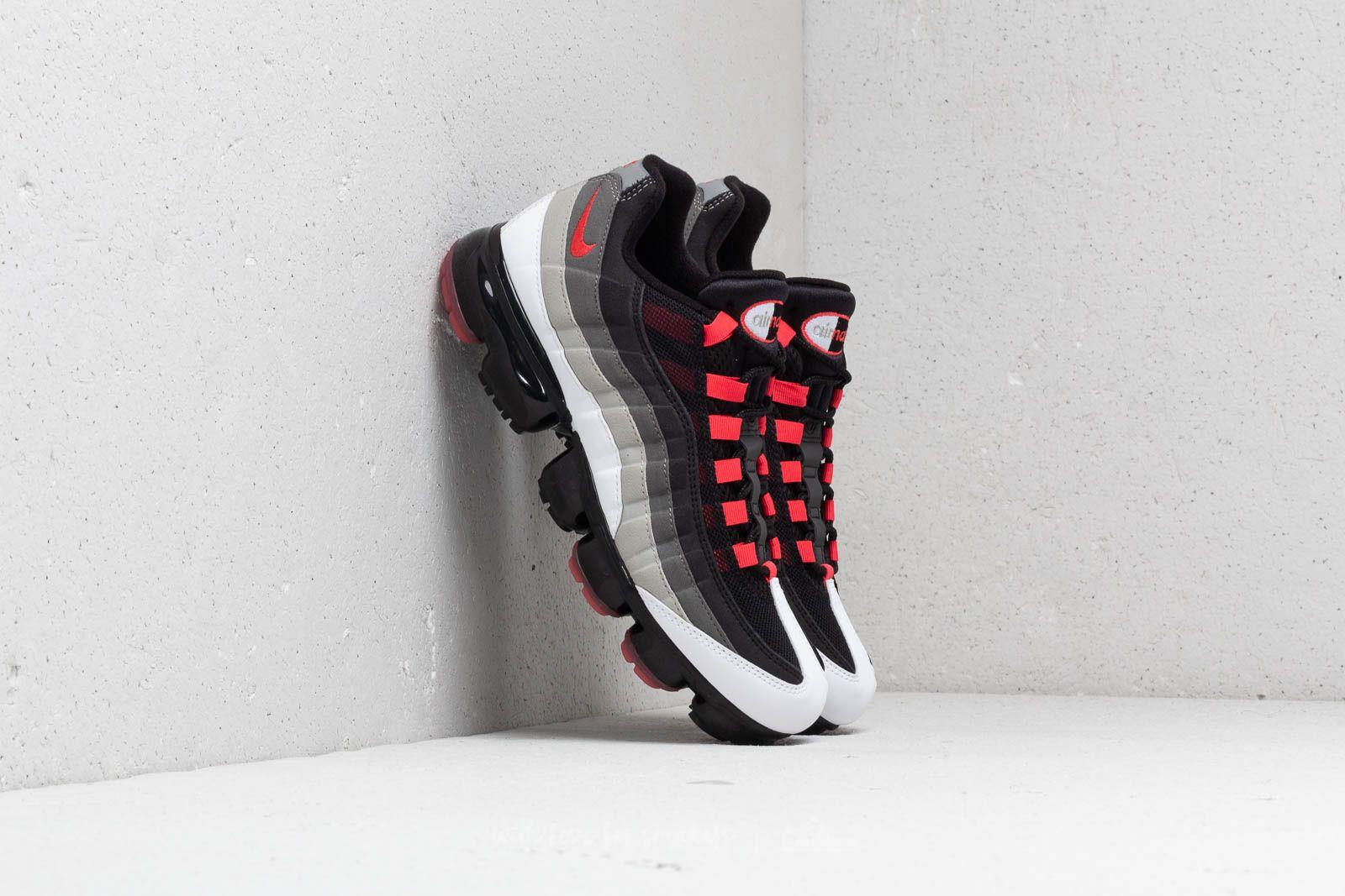Nike Air Vapormax  95 White  Hot Red-Dark Pewter at a great price 352b476ec
