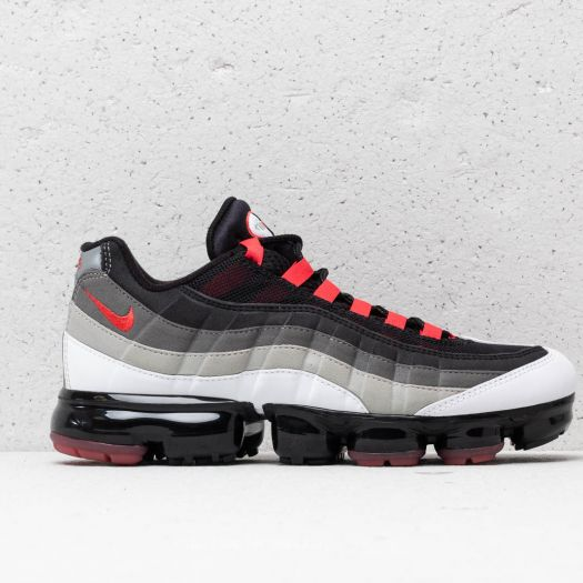 super popular e6b11 d9fcd Nike Air Vapormax '95 White/ Hot Red-Dark Pewter | Footshop