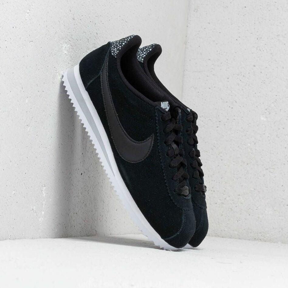 Nike Classic Cortez Premium Wmns Black/ Black-Wolf Grey-White EUR 40