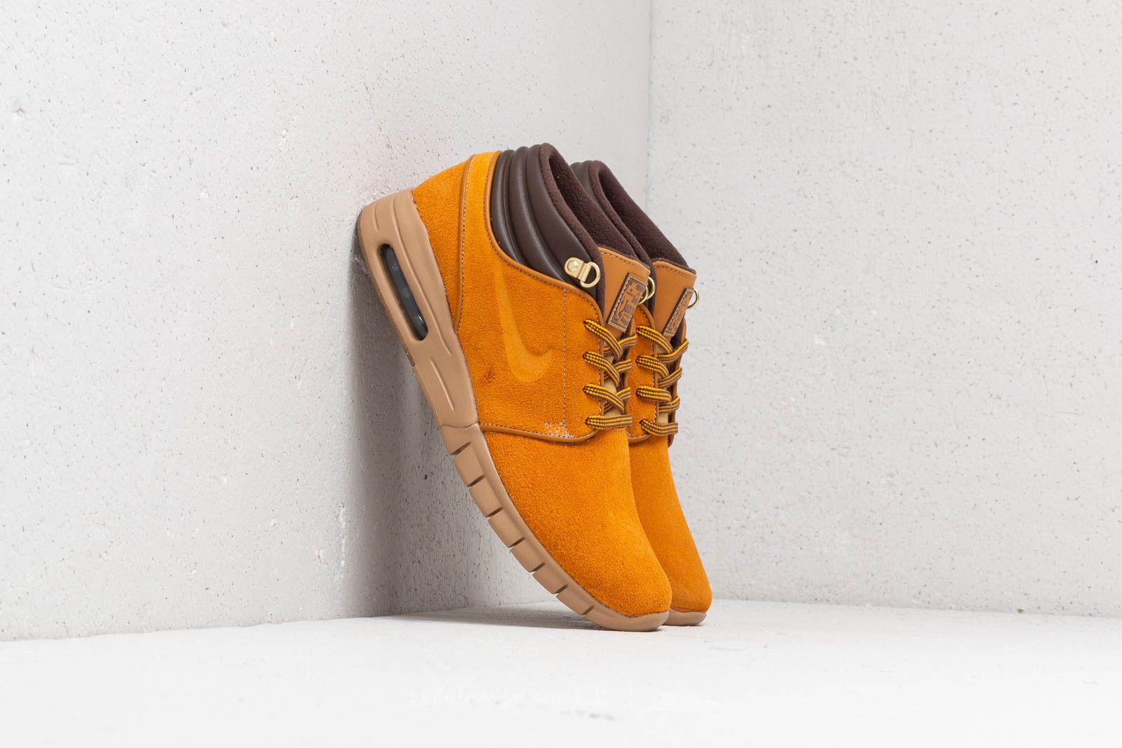 63f3ad5974 Nike Stefan Janoski Max Mid Premium Bronze/ Bronze-Gum Light Brown ...