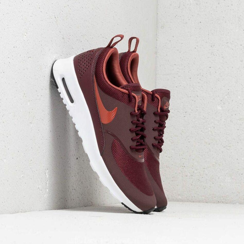 Nike WMNS Air Max Thea Burgundy Crush/ Burnt Orange EUR 38