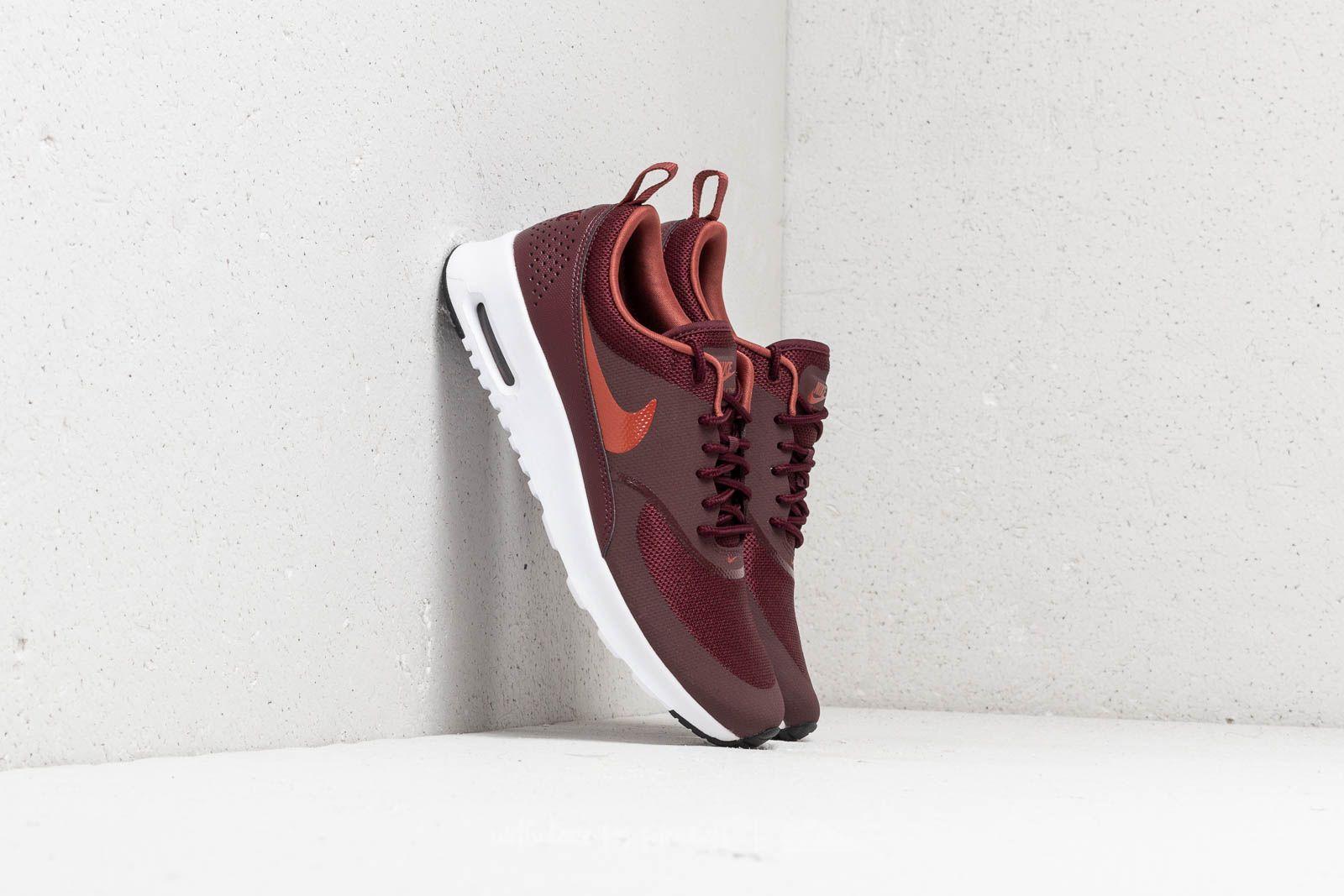 Nike WMNS Air Max Thea Burgundy Crush Burnt Orange | Footshop