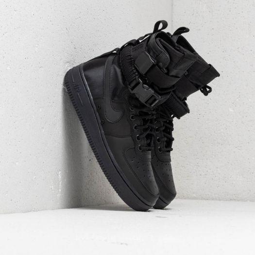 info for ba6cc 93b93 Nike Wmns SF Air Force 1 Black/ Black-Black-Oil Grey ...