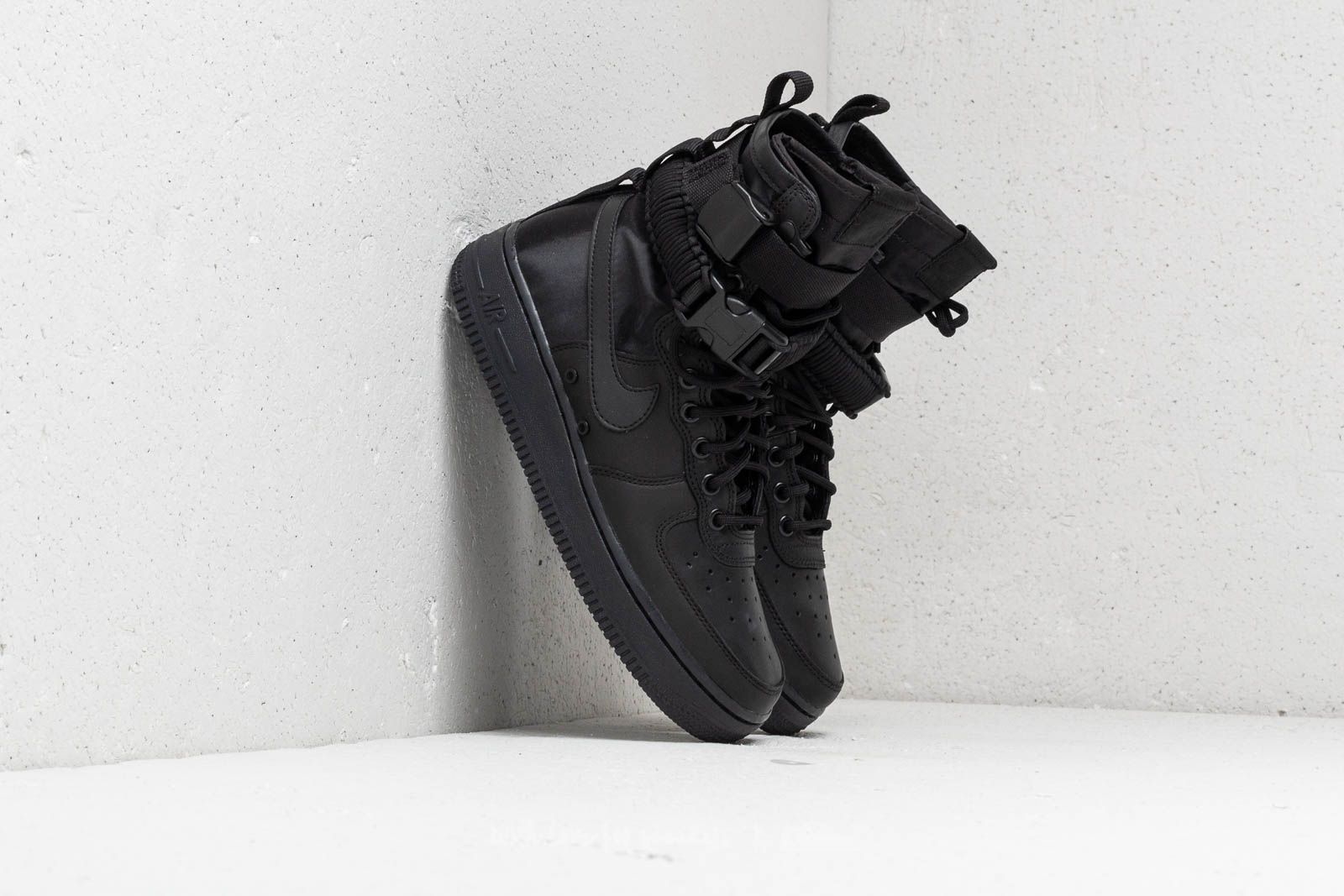 Nike Wmns SF Air Force 1 Black  Black-Black-Oil Grey  0d30555e86a3