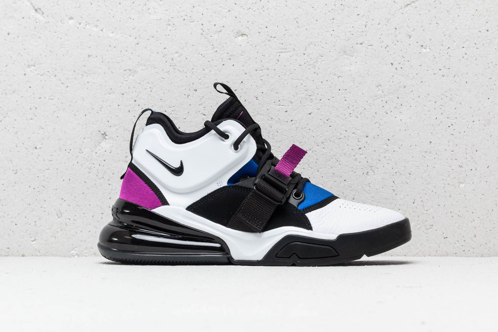 47b68381de1 Nike Air Force 270 White  Black-Lyon Blue at a great price £146