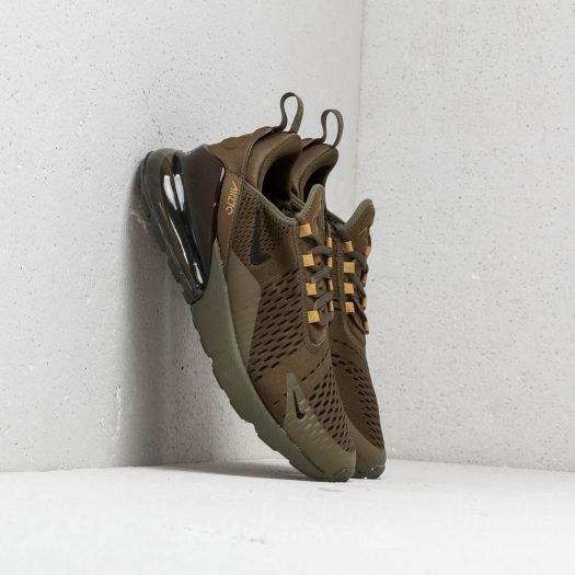 Mens Nike Air Max 270 Army Green Black