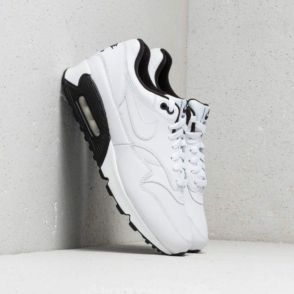 Nike Air Max 90/1 White/ White-Black-Black EUR 42