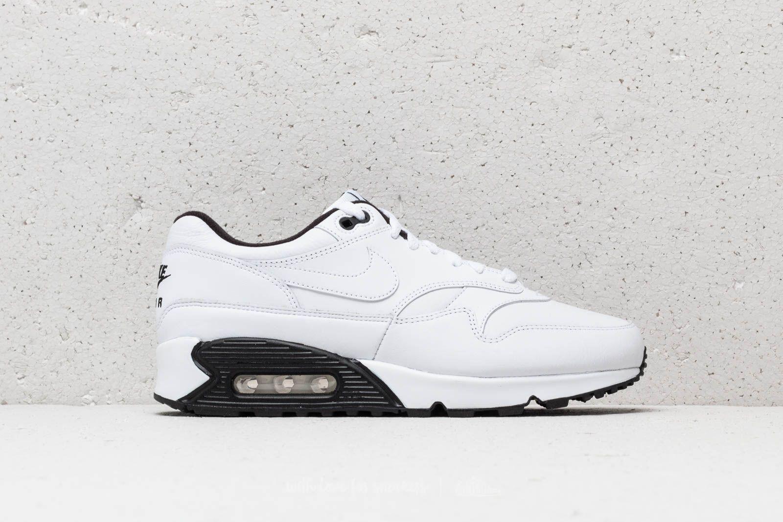 dea9611d86e6 Nike Air Max 90 1 White  White-Black-Black at a great