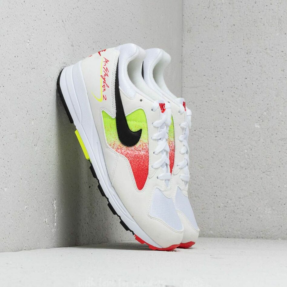 Nike Air Skylon II White/ Black-Volt-Habanero Red EUR 42