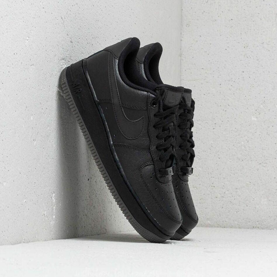 Nike Wmns Air Force 1 '07 Ess Black/ Black-Black EUR 38