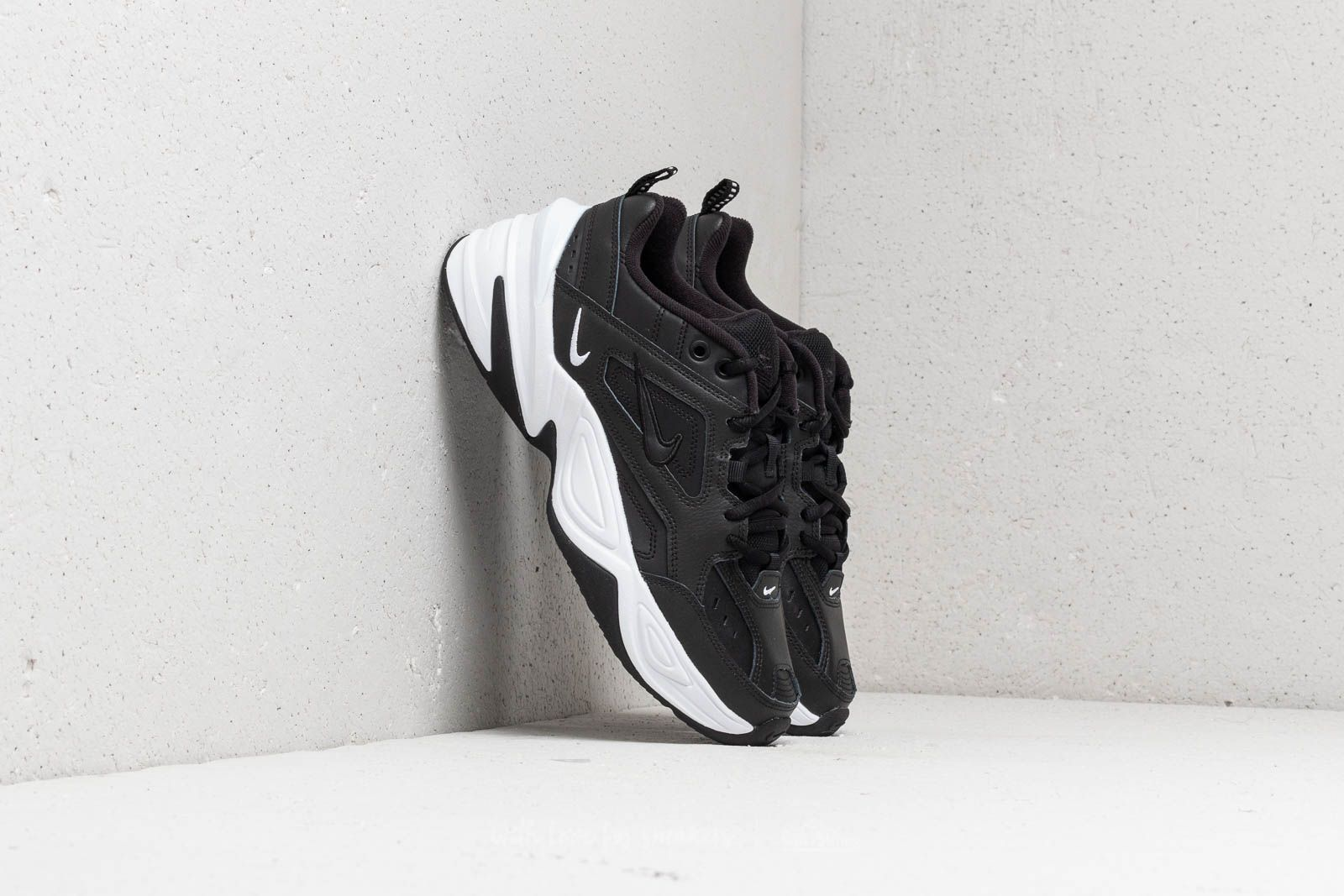 new product c727a a9a8a Nike M2K Tekno W Black  Black-White