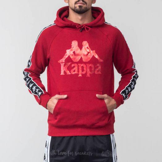 8df60cdb Kappa 222 Banda Hurtado Hoodie Red/ Black/ White | Footshop