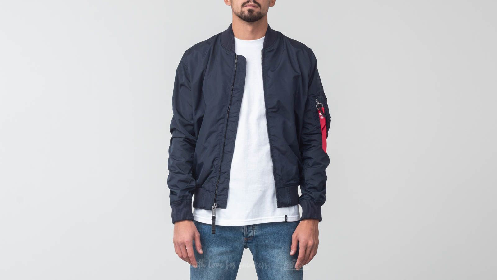 Alpha Industries MA-1 TT Blue at a great price $96 buy at Footshop