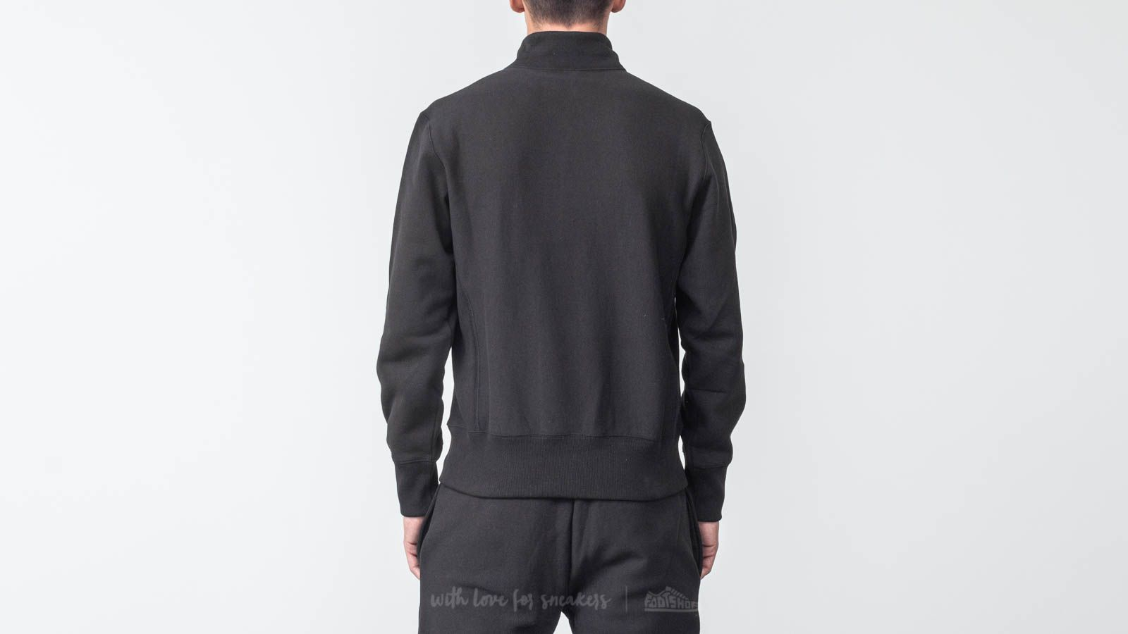 Champion Half Sweatshirt Zip Sweatshirt BlackFootshop Zip Champion Half mnw08N