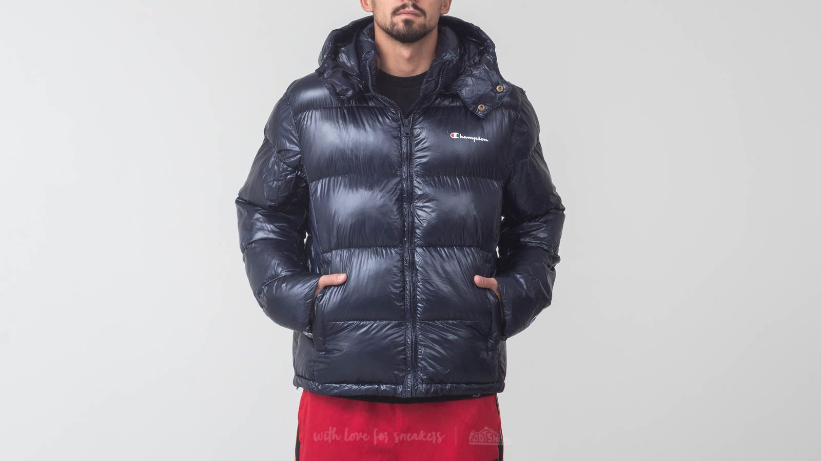 NavyFootshop Champion Hooded Champion Jacket Jacket Hooded NavyFootshop NavyFootshop Champion Jacket Hooded SUpGzMLqV