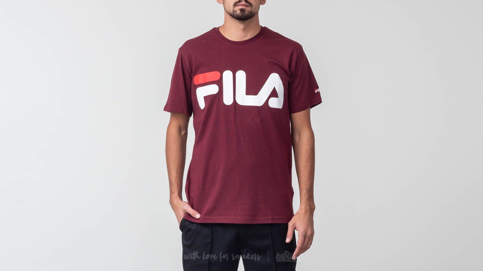 Trička a košile FILA Classic Logo Tee Tawny Port