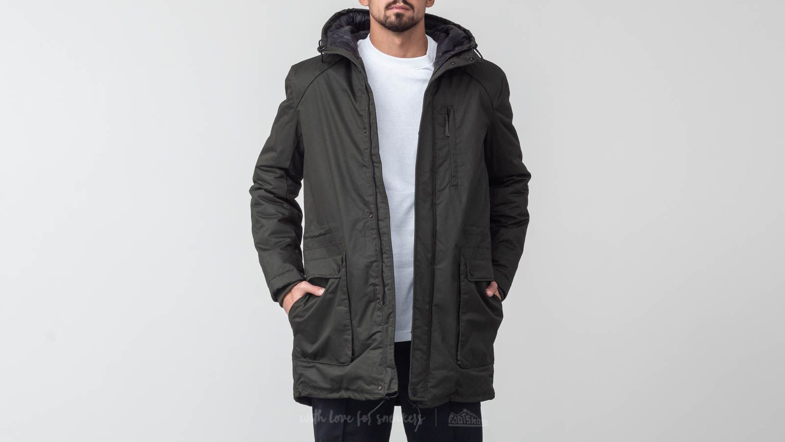 SELECTED Vinyl Parka Jacket