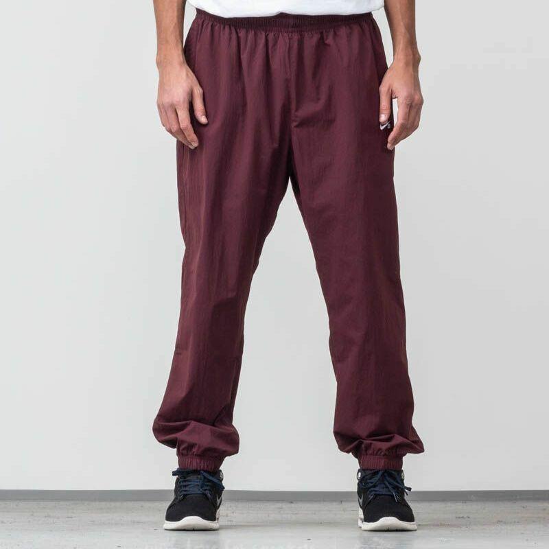 Nike SB Flex Track Pants Bordeaux/ White