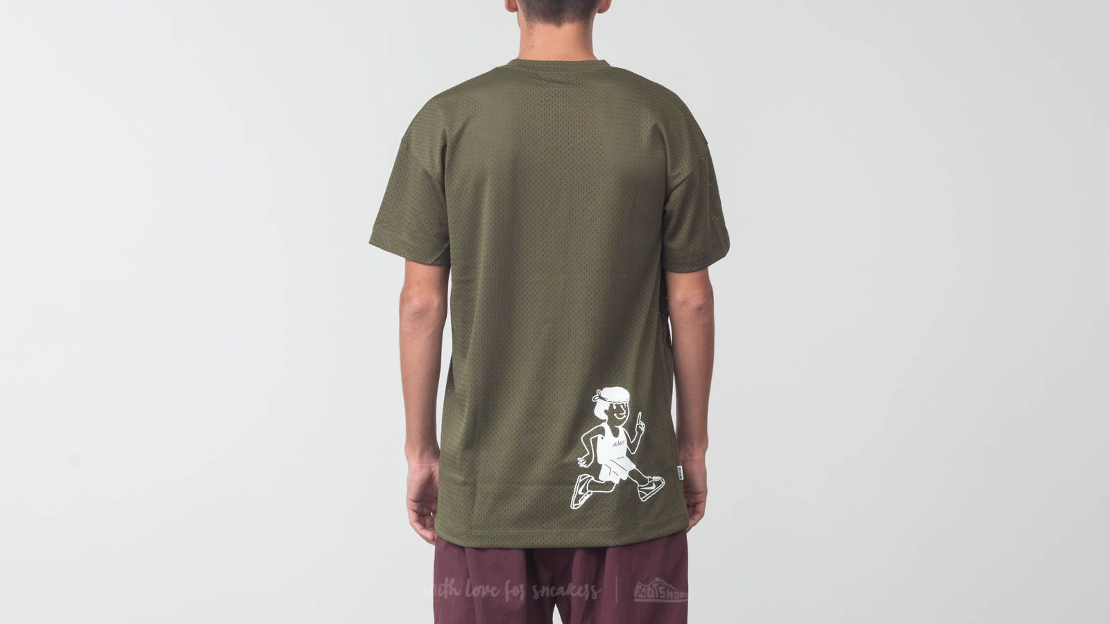 2be0ae1e9 Nike Sportswear Shortsleeve Mesh Top Olive Green at a great price $40 buy  at Footshop