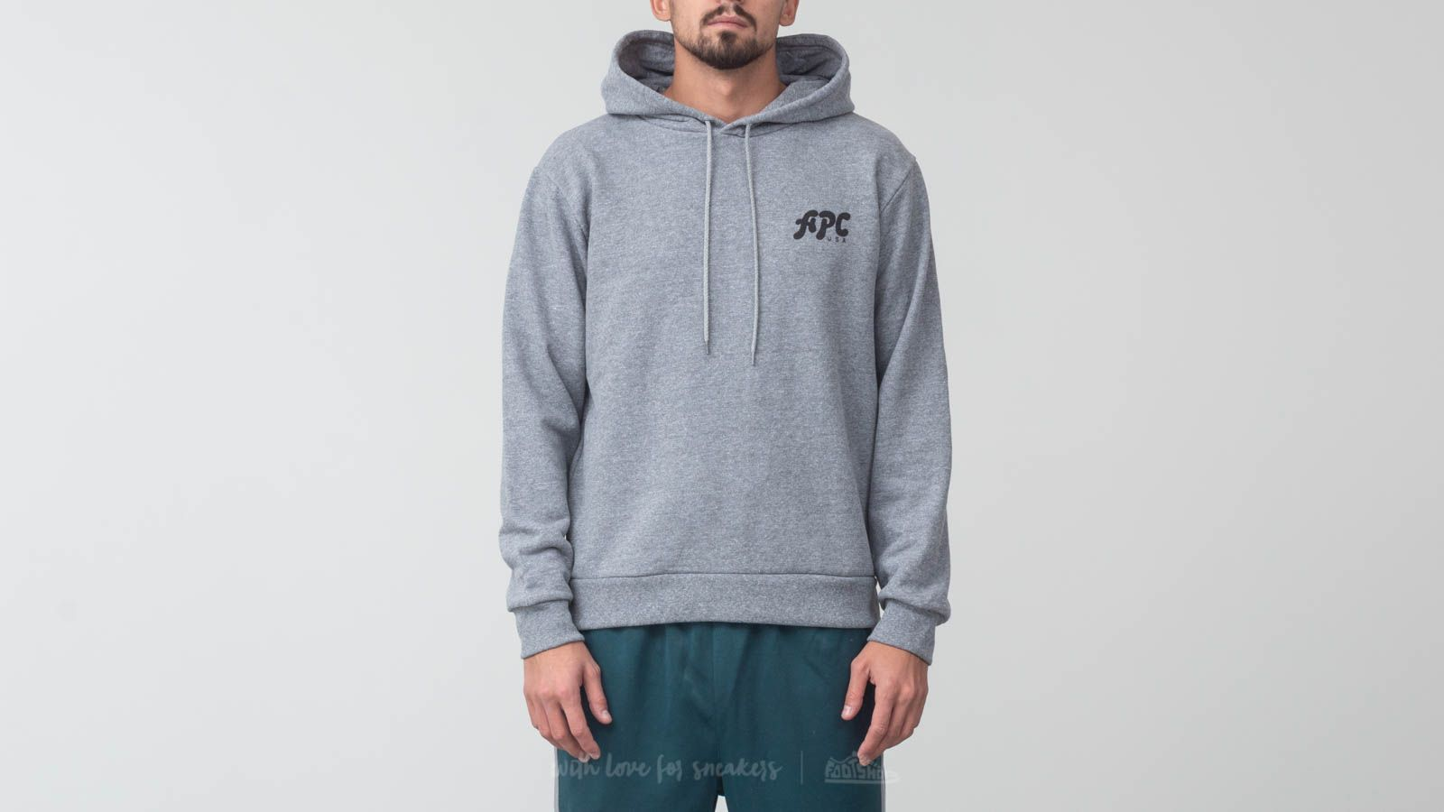 Mikiny a svetry A.P.C. Michel Hoodie Grey