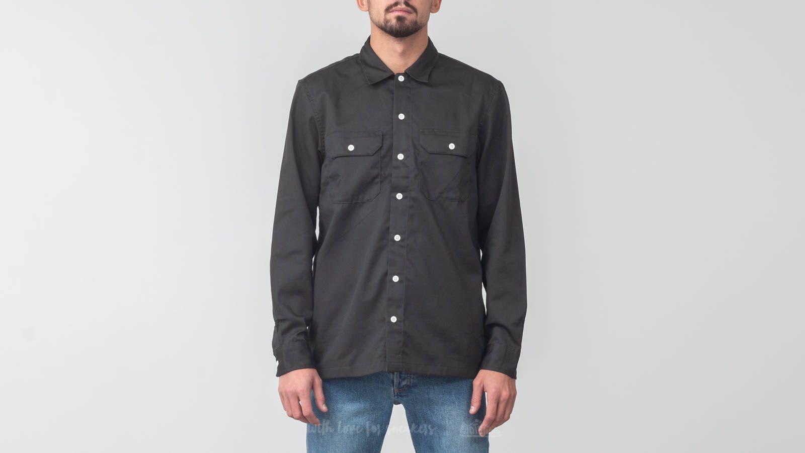 Košile Carhartt WIP Longsleeve Master Shirt Asphalt Rinsed