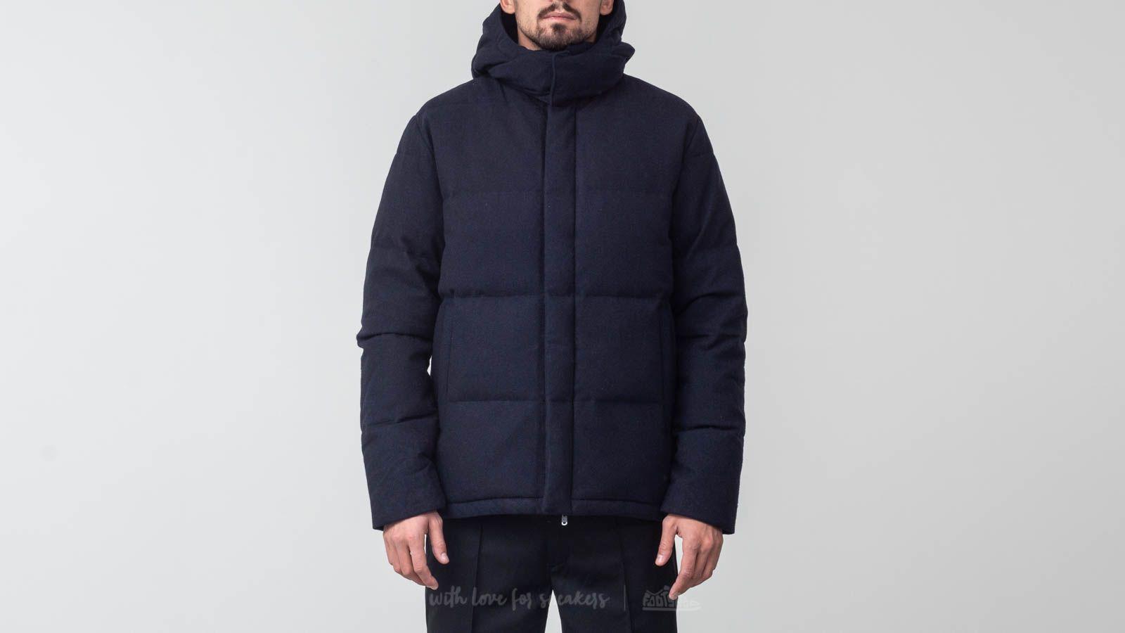 Norse Projects Asger Waterproof Wool Jacket Dark Navy za skvělou cenu 15 324 Kč koupíte na Footshop.cz