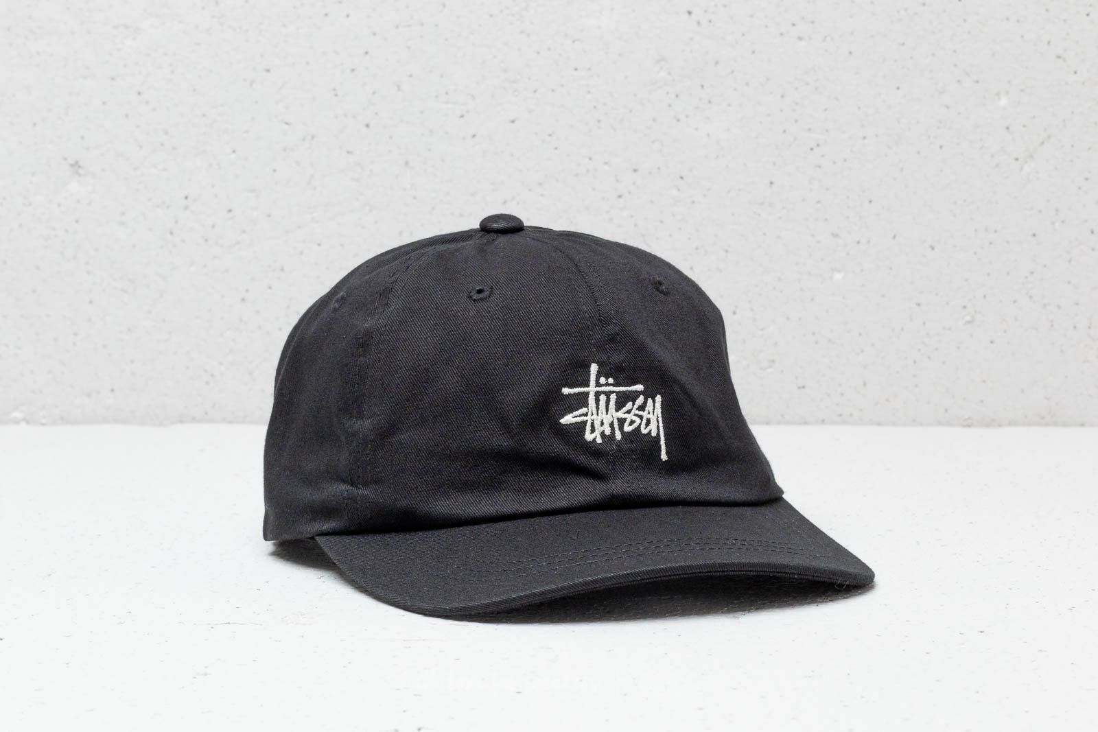 23d3fed1909 Stüssy Stock Low Pro Cap Black