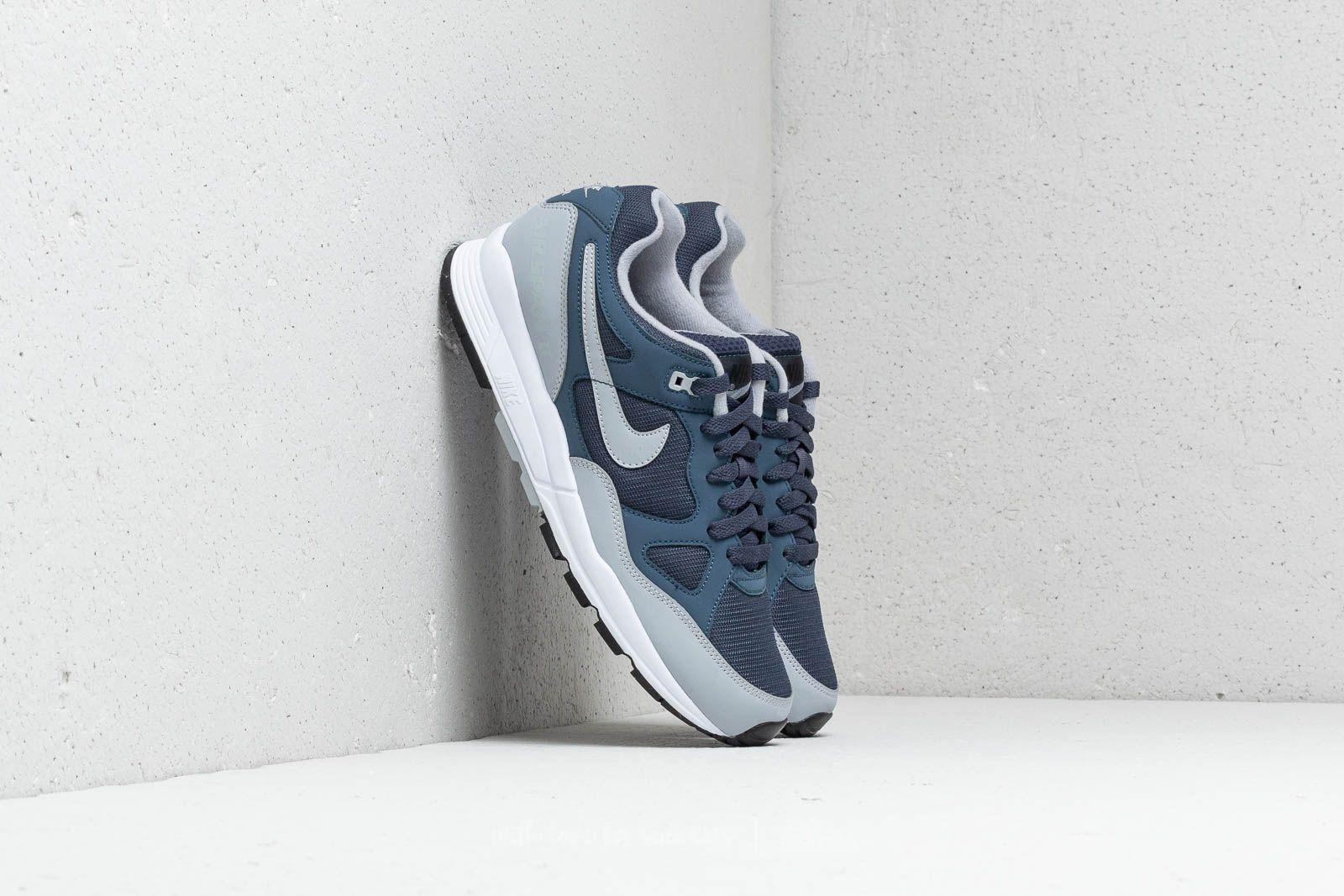 Pánské tenisky a boty Nike Air Span II Thunder Blue/ Wolf Grey-White