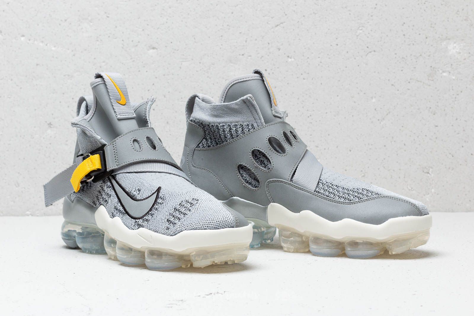 uk availability 15354 8f2b8 Nike Air Vapormax Premier Flyknit Wolf Grey/ Metallic Silver ...