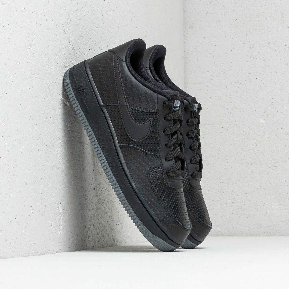 Nike Air Force 1 LV8 Perf (GS) Black/ Black-Dark Grey EUR 38.5