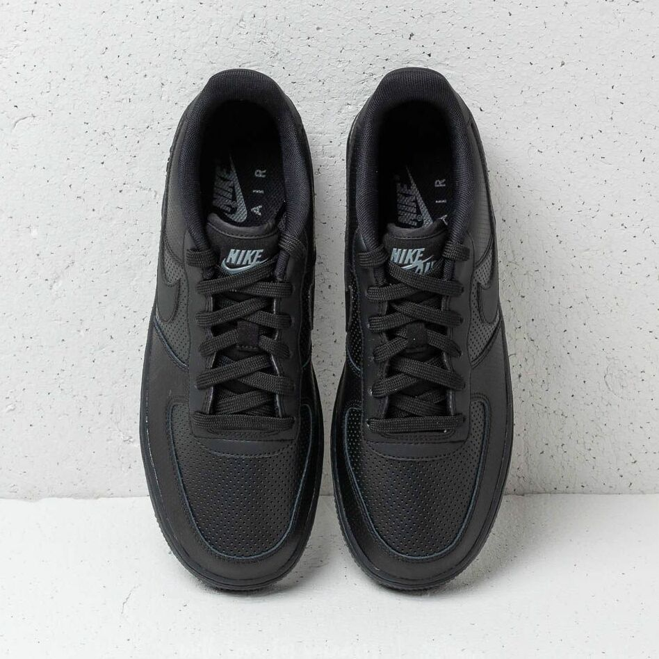 Nike Air Force 1 LV8 Perf (GS) Black/ Black-Dark Grey