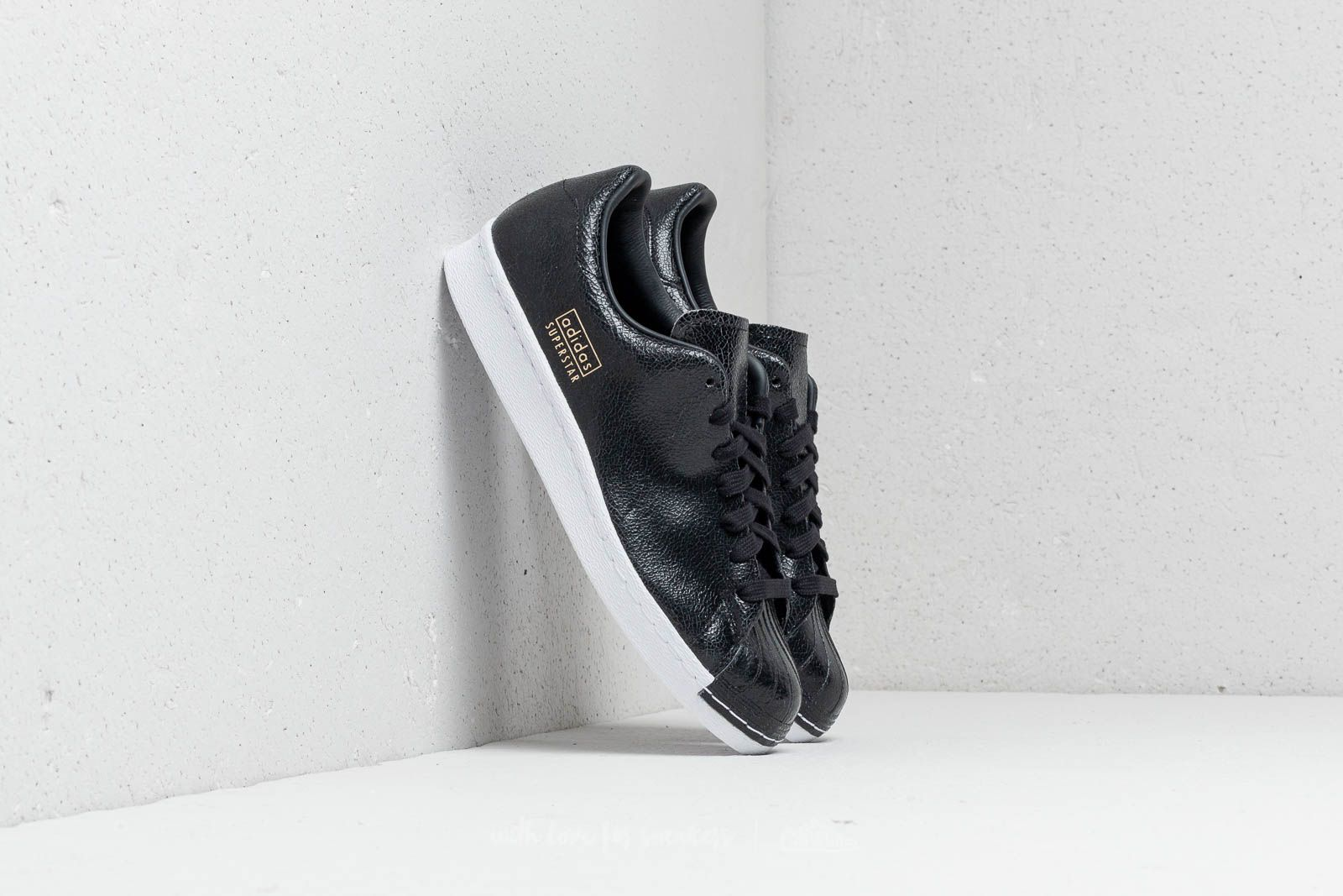 buy popular 9babb 3facf adidas Superstar 80s Clean Core Black/ Core Black/ Ftw White ...
