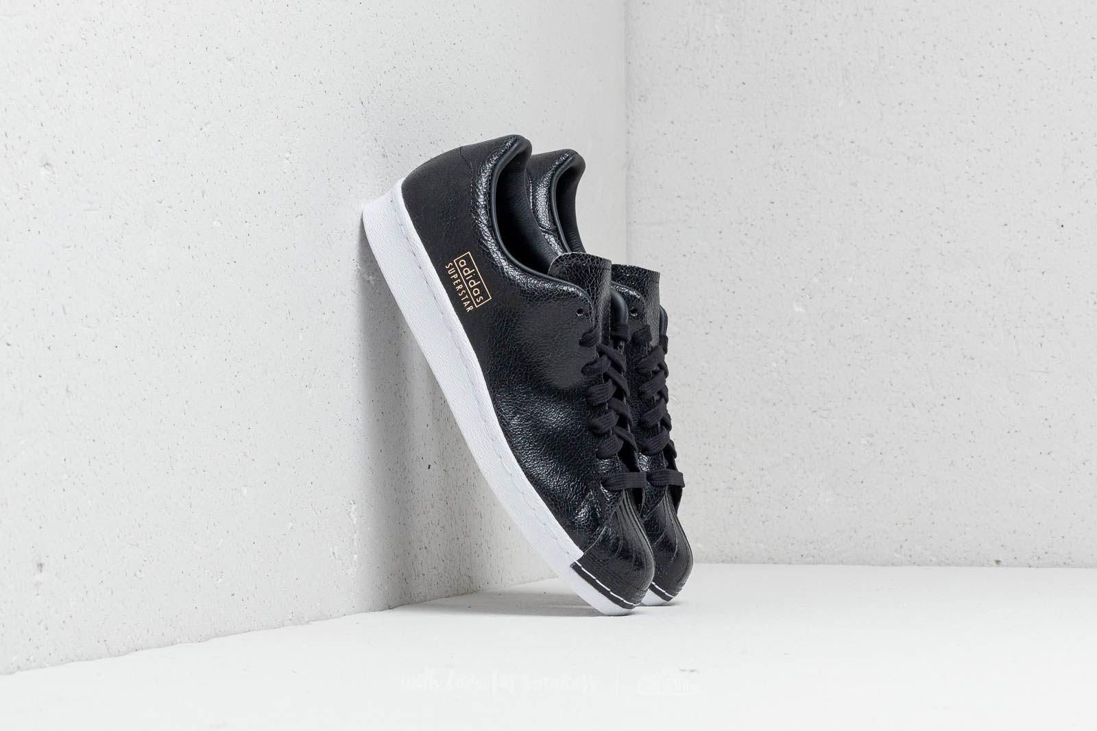 adidas Superstar 80s Clean Core Black/ Core Black/ Ftw White