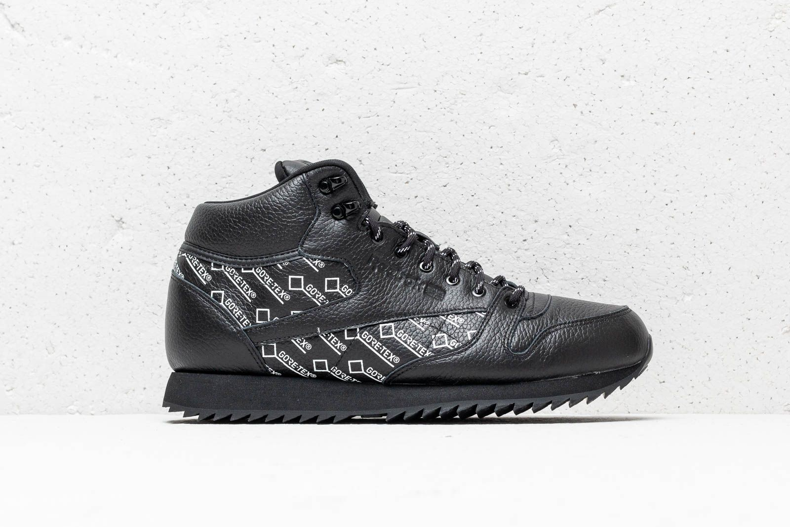 Reebok CL Leather Mid Ripple Gore-Tex Black  White at a great price 77 452943240
