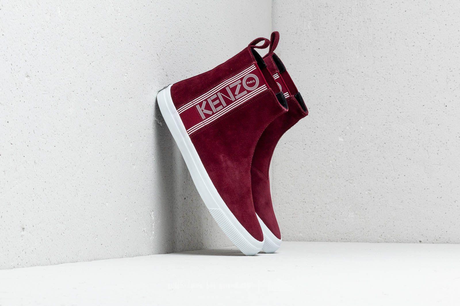 Kenzo Kapri High Top Sneakers Bordeaux za skvělou cenu 4 130 Kč koupíte na Footshop.cz