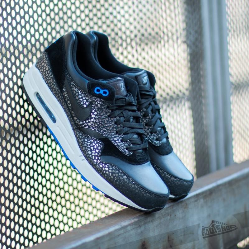 premium selection 2e97c 5e872 Nike Air Max 1 Deluxe Black/Hyper Cobalt   Footshop