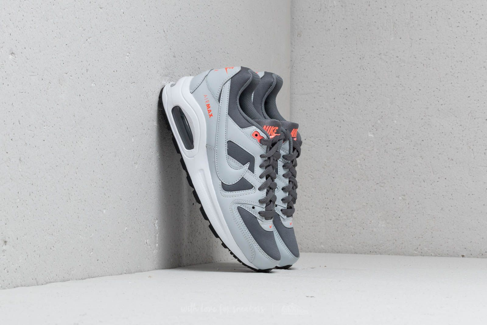 Nike Air Max Command Flex (GS) Cool Grey Pure Platinum | Footshop