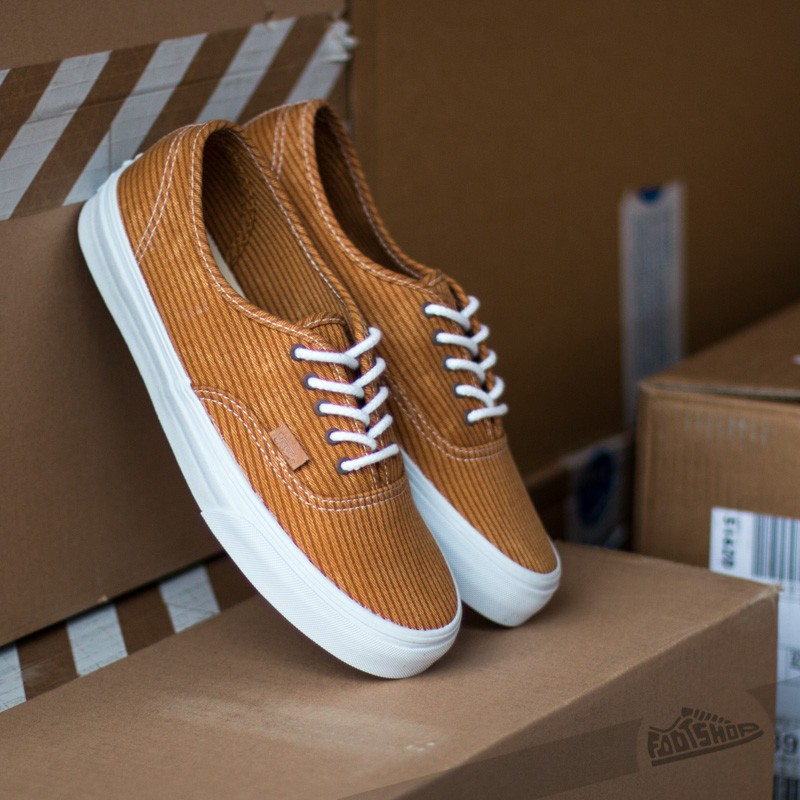 Vans Authentic CA Washed Herringbone Inca Gold  e66db944d4