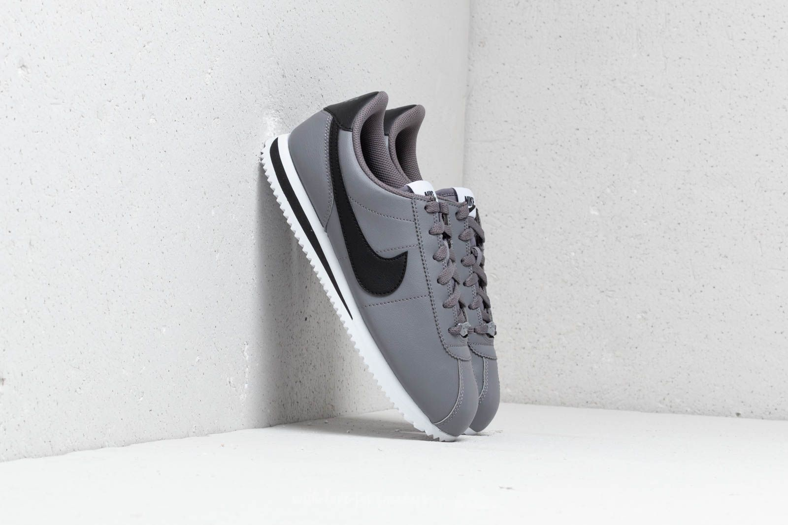 61408a10430fce Nike Cortez Basic SL (GS) Gunsmoke  Black-White
