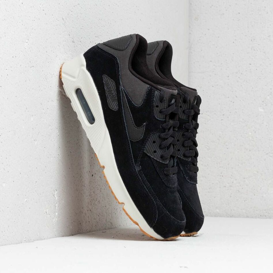 Nike Air Max 90 Ultra 2.0 Leather Black/ Black-Light Bone EUR 44