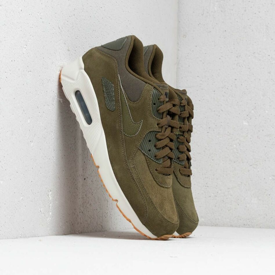 Nike Air Max 90 Ultra 2.0 Leather Olive Canvas/ Olive Canvas EUR 44.5