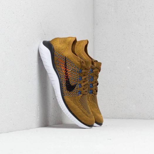 Nike Free Run Flyknit 2018Olive Flak Black Desert Moss