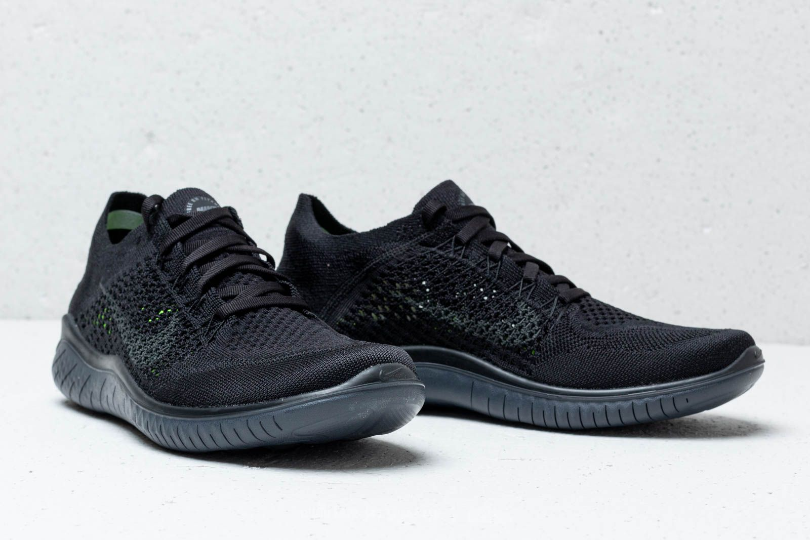 new style 2c256 7d05a Nike Wmns Free RN Flyknit 2018 Black  Anthracite a muy buen precio 129 €  comprar