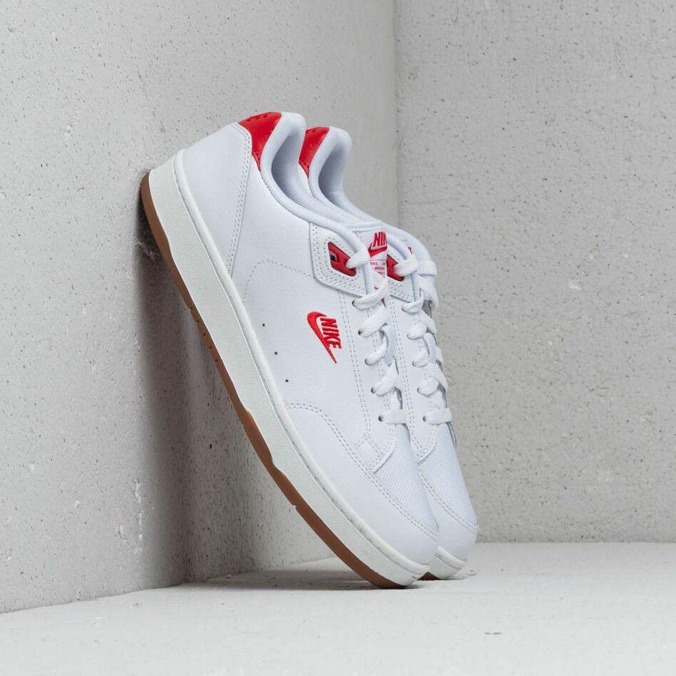 Nike Grandstand II Premium White/ University Red