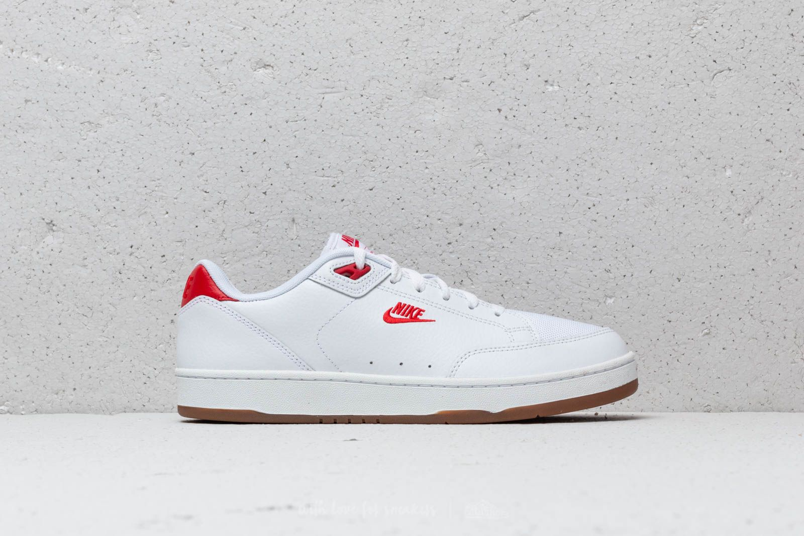 hot sale online 40348 19b00 Nike Grandstand II Premium White  University Red at a great price £86 buy at